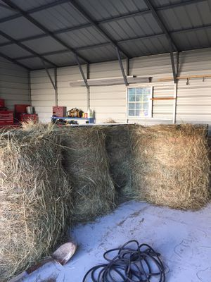 Round bales of cow hay for Sale in Suffolk, VA