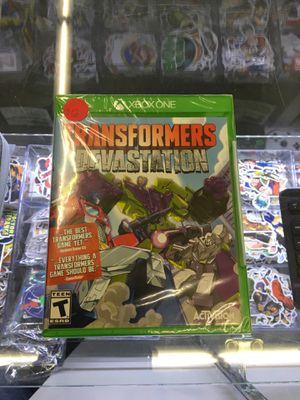 Transformers: Devastation - Xbox One for Sale in San Bernardino, CA