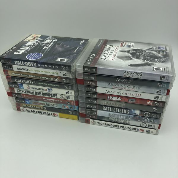 Sony PS3 Console w/ 20 Games - All Tested