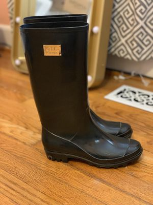 Black rain boots for Sale in Severna Park, MD