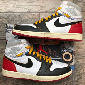 Jordan 1 x Union 'Black Toe'. Size 9.5 for Sale in Annandale, VA