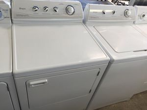 MAYTAG WASHER DRYER SET WORKS GREAT WARRANTY DELIVERY for Sale in Fort Washington, MD