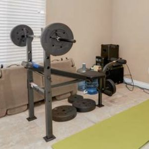 Bench and weights for Sale in Stockton, CA
