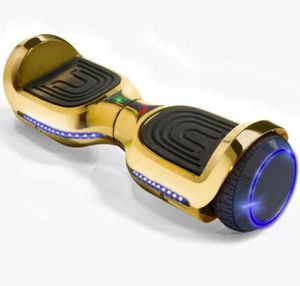 NEW GOLD BLUETOOTH HOVERBOARD LEDS MUSIC LIGHTS + CHARGER for Sale in Ann Arbor, MI
