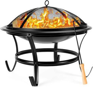 Outdoor Patio Steel Fire Pit Bowl BBQ Grill for Sale in Los Angeles, CA
