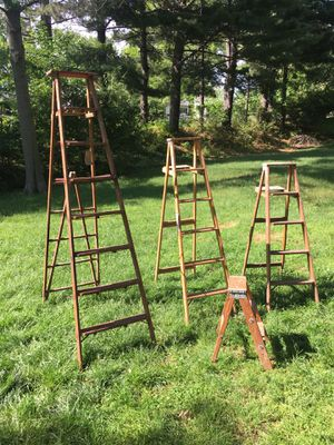 Wood ladders for Sale in St. Louis, MO
