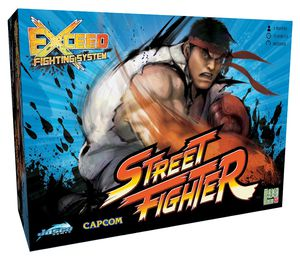 Exceed Street Fighter Board Game - Ryu Box for Sale in Las Vegas, NV