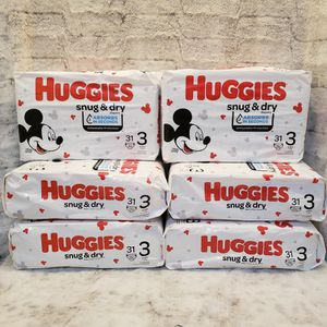 Huggies Snug & Dry Diapers for Sale in Cornwall, NY