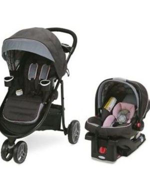 Graco baby 3 lite mode stroller with car seat for Sale in Reston, VA