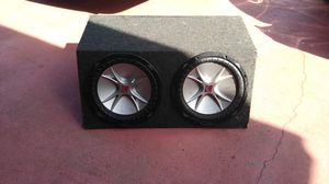 Kicker Speaker Boom Box for Sale in Kissimmee, FL