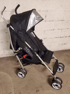 BLACK 3DLite Folding Baby Stroller w/Canopy - firm price. for Sale in Arlington, VA