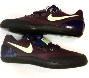 Nike Zoom Rotational 6 Shot Put Discus Shoes Men's Size 14 Bordeaux 685131-600 for Sale in Zachary, LA
