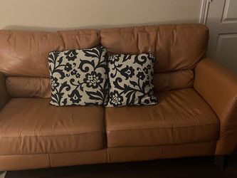 Burnt Orange Sofa/Accent Chair /End Table for Sale in Round Rock,  TX