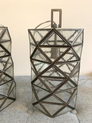 Geometric pendant lights (have 2) for Sale in Cary, NC