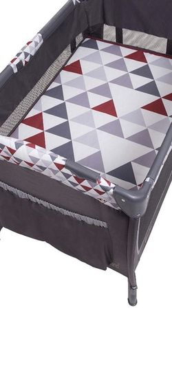 Baby Trend Pack n Play Red/Grey Pyramid for Sale in Corona,  CA