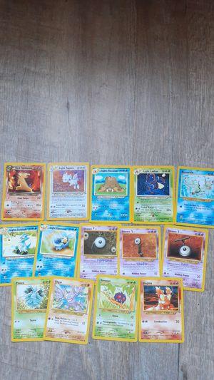 Pokemon card Holo Neo revelation lot 2 holos incomplete set Dark Typhlosion Light Togetic for Sale in Orange, CA