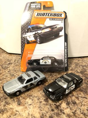 Hot wheels mustang matchbox 5.0 ssp for Sale in Rialto, CA