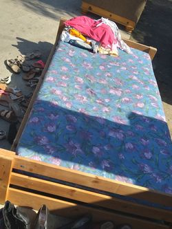 Twin Bed With Mattress for Sale in Selma,  CA