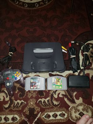 Nintendo 64/ mario 64 and starfox 64 for Sale in Las Vegas, NV