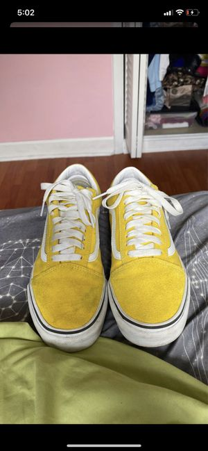 Yellow Old Skool Vans for Sale in Miramar, FL
