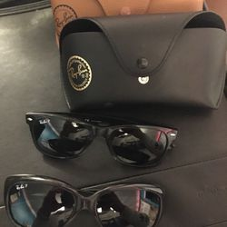2 Italy Made Ray Ban Sunglasses for Sale in Sacramento,  CA
