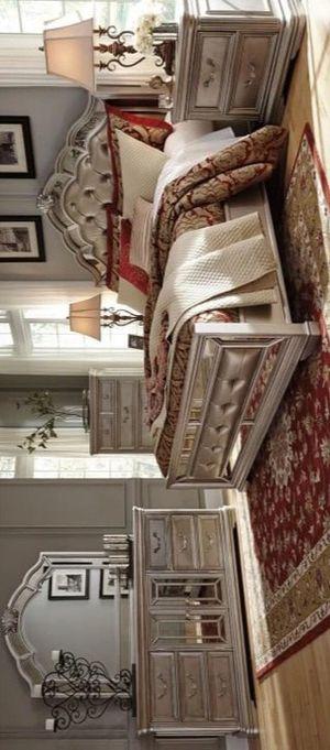 🔥ASHLEY 🔥Birlanny Silver Bedroom Set for Sale in Glen Burnie, MD