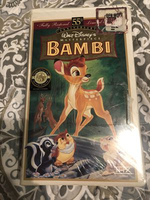 Bambi vhs for Sale in Bothell, WA