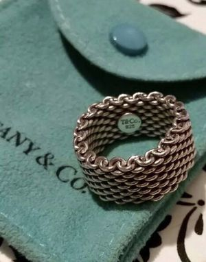 Tiffany&Co Somerset Sterling 925 Ring for Sale in Rosemead, CA