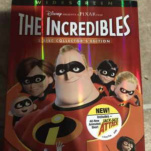 The Incredibles Wide Screen Dvd Movie for Sale in Elma, WA