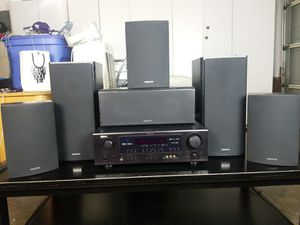 Denon Home Sound Sytem & 6 Onxyo Speakers for Sale in Hayward, CA