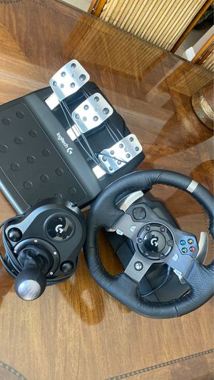 Logitech G920 Racing Setup for Sale in Long Beach, CA