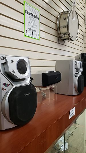 Panasonic 3 Piece Stereo System for Sale in Chicago, IL