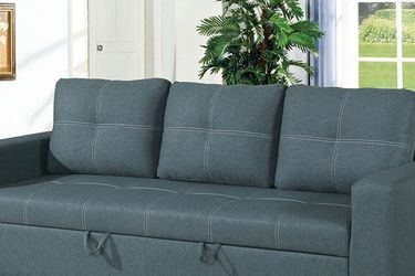 Gray Blue Sofa With Pull-Out Bed ¡¡NEW!! for Sale in Glendale,  AZ