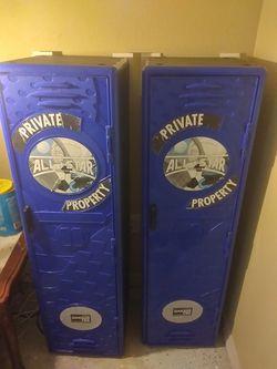 2 tall storage lockers for Sale in Port Richey,  FL