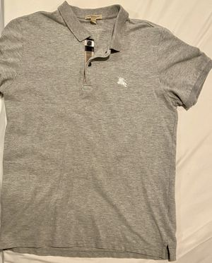 Burberry Grey Polo Size: M for Sale in New Brunswick, NJ