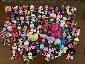 Lol dolls lot of over 50 dolls/pets/lil's for Sale in Portland, OR