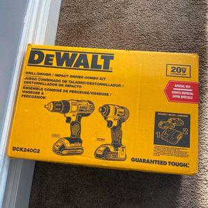 Dewalt Drill/ Driver:impact Combo Kit for Sale in Lilburn, GA