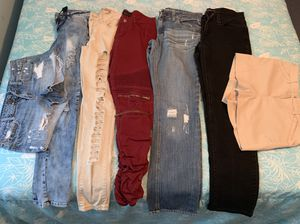 Jeans And Shorts Girl Sizes for Sale in Riverdale, GA