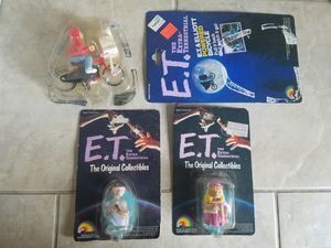 E t the Extra-Terrestrial ljn action figure toy lot for Sale in Newberg, OR