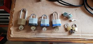Multiple locks with keys for Sale in Alexandria, VA