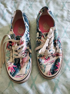 Women's Linen Floral Vans for Sale in DeLand, FL