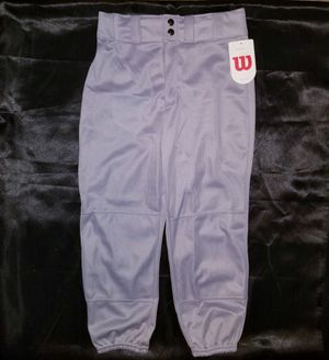 Wilson Youth (M) Fitted Baseball Pants for Sale in Manchester, PA