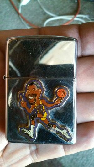 Zippo lighter with Magic Johnson for Sale in Chula Vista, CA