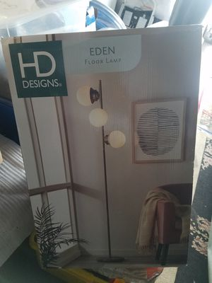HD Digns Edens Floor Lamp New for Sale in Portland, OR