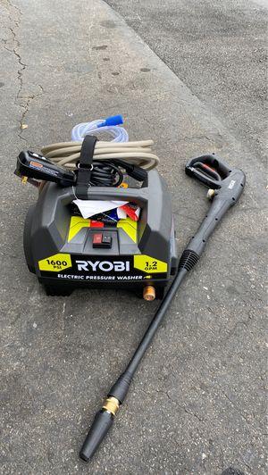 Ryobi 1600 psi pressure washer for Sale in Garden Grove, CA