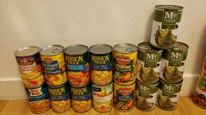 Canned fruit for Sale in San Fernando, CA