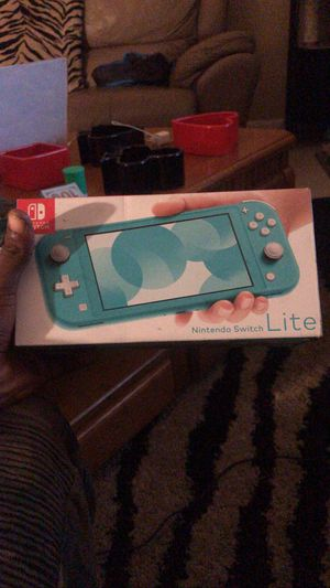 Brand New Nintendo Switch Lite Perfect Condition Never Open for Sale in Oakland Park, FL