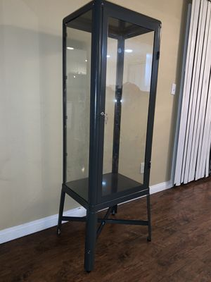 Glass display Case with adjustable shelves for Sale in Riverside, CA