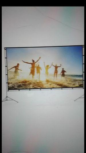 Vamvo outdoor indoor projector screen *SECTION D* for Sale in Phoenix, AZ