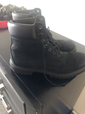 "🌳 Timberland's all black 6"" premium boots 🥾 for Sale in Tampa, FL"
